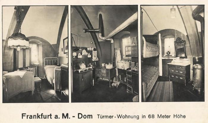 Ansichtskarte Türmerwohnung in Frankfurt