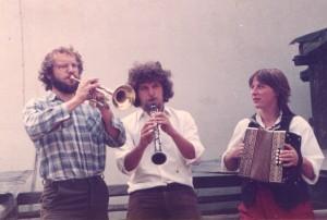 Die Fränkischen Straßenmusikanten 1982