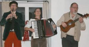 Steffis kleine Zachmusik: Andreas Richter, Steffi Zachmeier, Heinrich Filsner