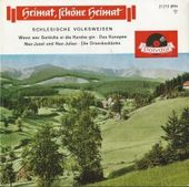 """Plattencover """"Heimat schöne Heimat - Schlesische Volksweisen"""""""