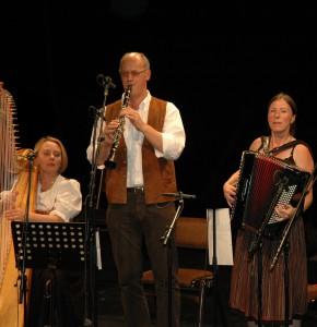 Trio Califragilis: Rosemarie Seitz, Franz Josef Schramm, Steffi Zachmeier