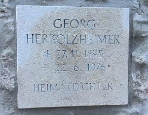 Gedenktafel Georg Herbolzheimer