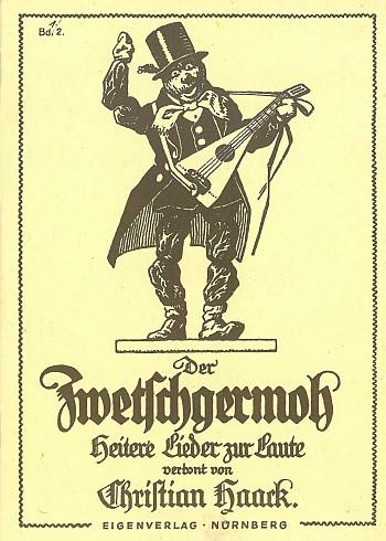 Haack: Zwetschgermo - Cover