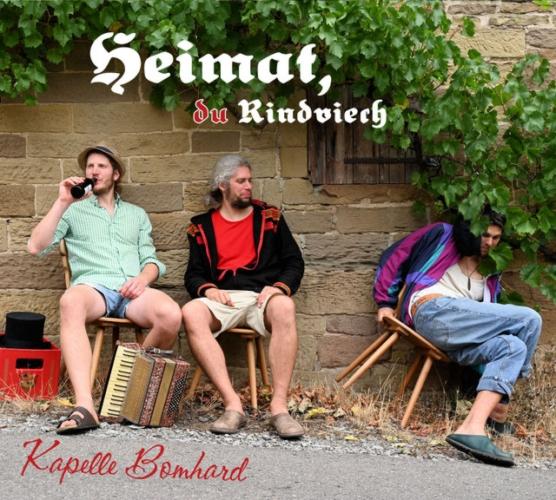 CD-Cover Kapelle Bomhard: Heimat, du Rindviech