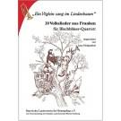 """""""Ein Vöglein sang im Lindenbaum"""". Volkslieder für Blechbläser-Quartett"""
