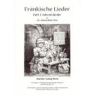 Fränkische Lieder H.1 Adventslieder - 3stg gemischter Chor