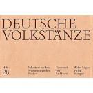 Deutsche Volkstänze: Volkstänze aus dem Württembergischen Franken