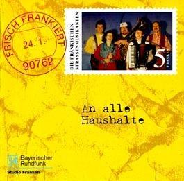 Die fränkischen Straßenmusikanten: Frisch frankiert