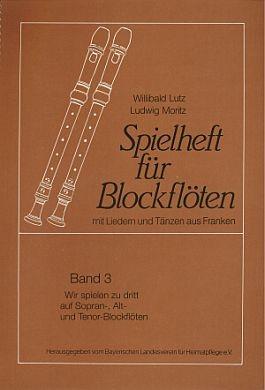 Spielheft für Blockflöten 3