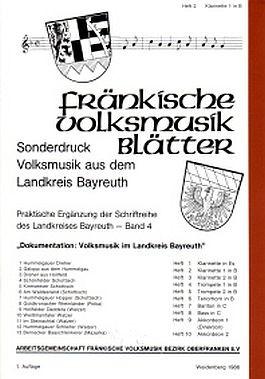 Fränkische Volksmusikblätter 4