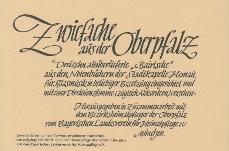 Zwiefache aus der Oberpfalz