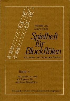 Spielheft für Blockflöten 4