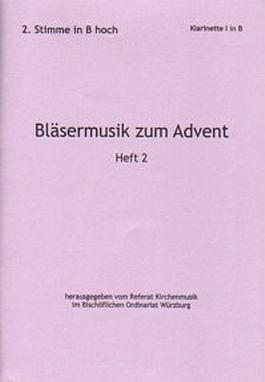 Bläsermusik zum Advent, H. 2: 2. Stimme in B hoch