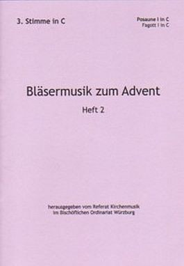Bläsermusik zum Advent, H. 2: 3. Stimme in C
