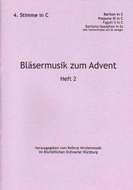 Bläsermusik zum Advent, H. 2: 4. Stimme in C