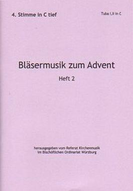 Bläsermusik zum Advent, H. 2: 4. Stimme in C tief