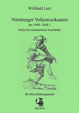 Nürnberger Volksmusikanten um 1600 H.1 für Blockflötenquartett