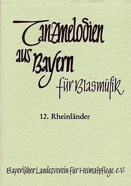 Tanzmelodien für Blasmusik Nr. 12: Rheinländer