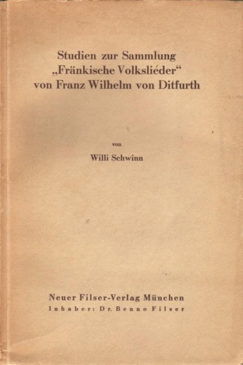 Schwinn Studien Fränkische Volkslieder