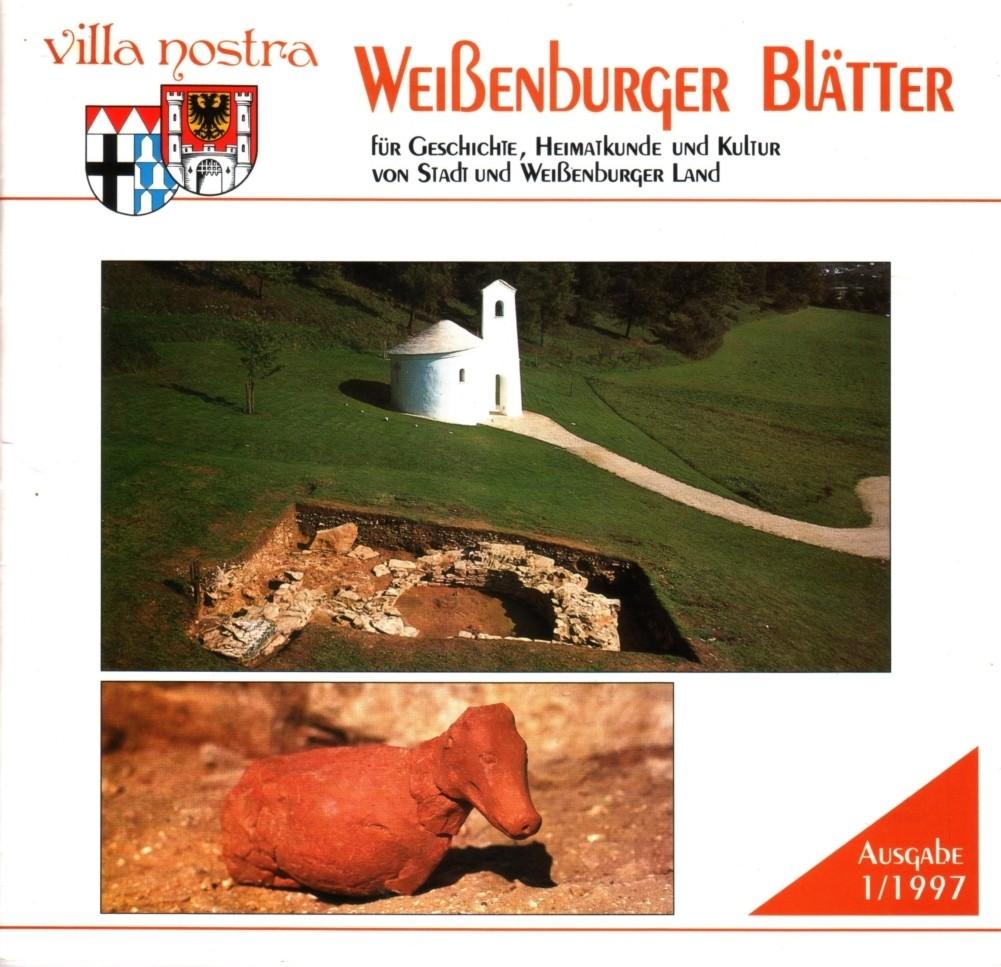 Villa nostra. Weißenburger Blätter für Geschichte, Heimatkunde und Kultur