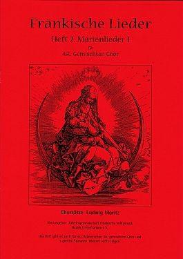 Fränkische Lieder H.2 Marienlieder 1 - 4stg gemischter Chor