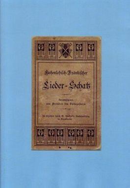 Hohenlohisch-Fränkischer Liederschatz