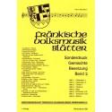 Fränkische Volksmusik Blätter Band 2. Sonderdruck gemischte Besetzung