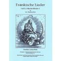 Fränkische Lieder H.2 Marienlieder 1 - 4stg Männerchor
