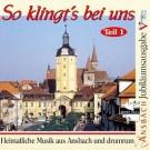 So klingt's bei uns in Ansbach und drumrum.1