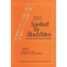 Spielheft für Blockflöten 2