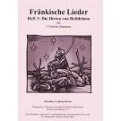 Fränkische Lieder H.3 Die Hirten von Bethlehem - 3 gleiche Stimmen