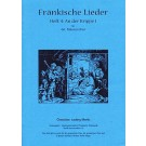 Fränkische Lieder H.4 An der Krippe I - 4stg Männerchor